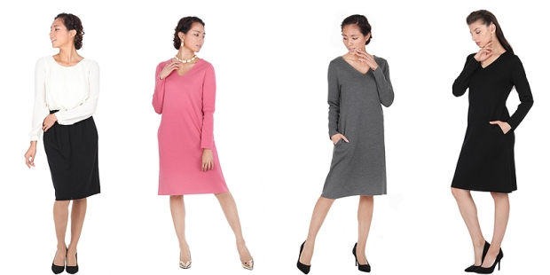 knit-group-dress