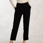 Black Tucked Trousers - https://kayme.com/bottoms/black-tucked-trousers.html