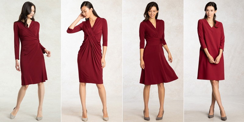 red-color-dress