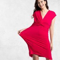 Cherry Pink Ribbon Dress - https://kayme.com/aijd-pink-ribbon-dress.html